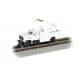 160-16901 HO Hi-Rail Equipment Truck w/crane_10319