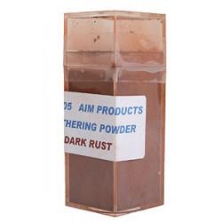 Pulver-Farben zum verwittern 1oz dark rust - Rost_10539