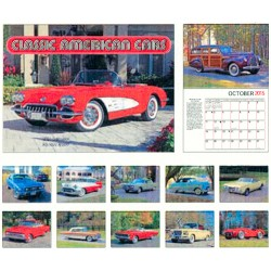 6908-0440 / 2016 Classic American Cars Kalender_10594