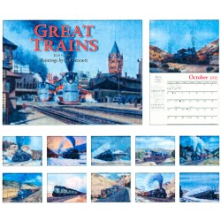 6908-0563 / 2016 Great Trains Kalender_10603