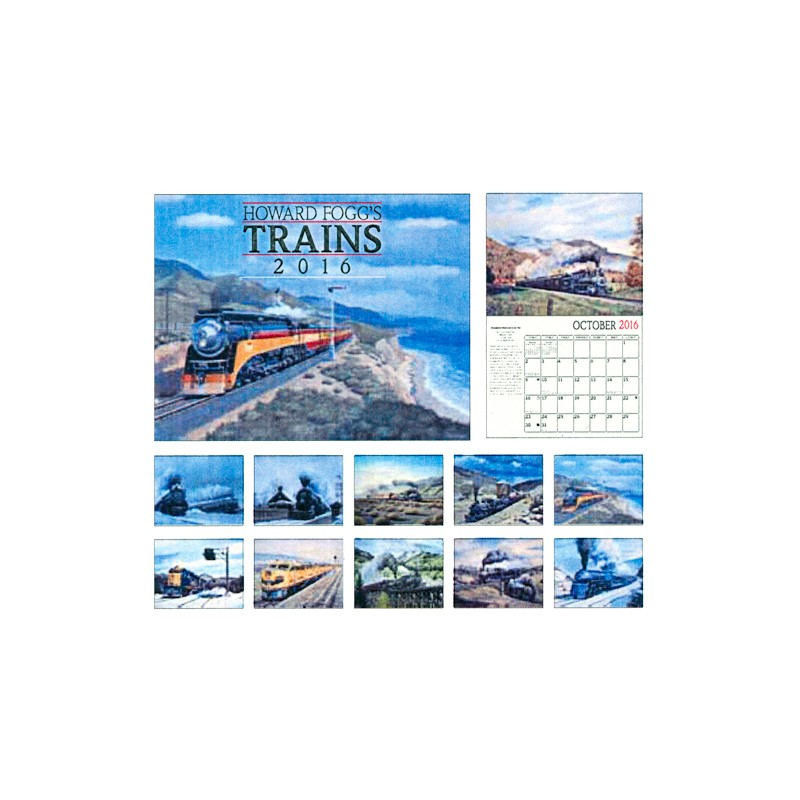 6908-0570 / 2016 Howard Fogg's Trains Kalender_10606