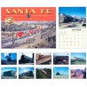 6908-0754 / 2016 Santa Fe Railway Kalender_10618