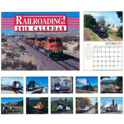 6908-0723 / 2016 Railroading Kalender_11000