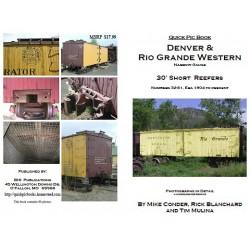 9-DRGW.30SR32 D&RGW 30' short reefer serie 32-78
