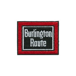 6709-P.BRH Patch Burlington Route_11979
