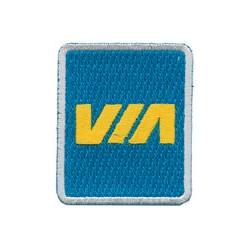 6709-P.VIA Patch Via Rail_11995