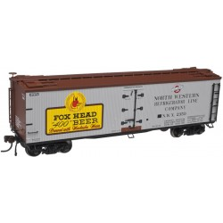 151-3002540-2 O 40' Wood Reefer Fox Head Beer_12059