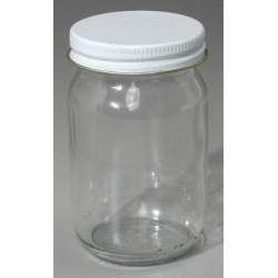 165-50-267 4oz. Jar w/lid for Sandblasting Gun_12343