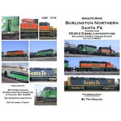 BHI Books BNSF SD40-2_12756