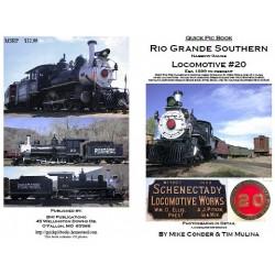 9-RGSloco20 Rio Grande Southern Loco # 20_12786