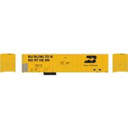 140-71446 HO 57' mech Reefer BN/Yellow # 9670_12927