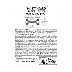 "489-003.12.007 N 36"" Standard Wheelsets (Nonmagnet_13222"