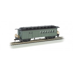 160-13505 HO 1860-1880 Passenger Car undec green_13407