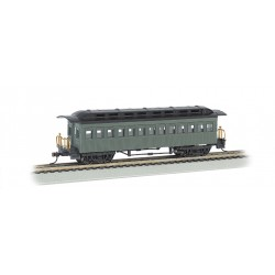 HO 1860-1880 Passenger Car undec green_13410