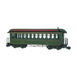 160-89399 G Coach, painted, unlettered, green_13412