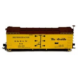 678-B340802 HON3 D&RGW 30' Reefer Car_14041