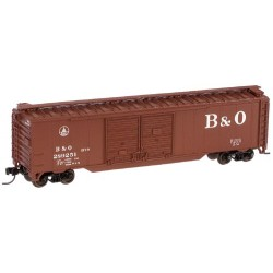 N 50' dbl door box car B&O No 289251_14085