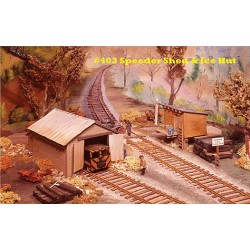 200-403 HO Speeder Shed & ice House_14329