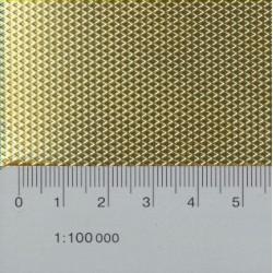 9-7.25.0010A-50 Riffelblech grob 0.3 x 200 x 50_14822