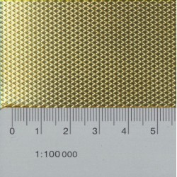 9-7.25.0010A Riffelblech grob 0.3 x 200 x 100_14823