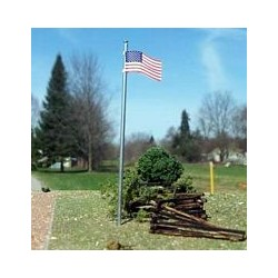 OSB-3094 N American Flag and Pole_14868