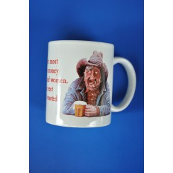 "6003-MGW03 Mug ""I spent most of my money in_15409"