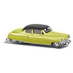 HO Cadillac '52 Coupe zweifarbig gelb_15804
