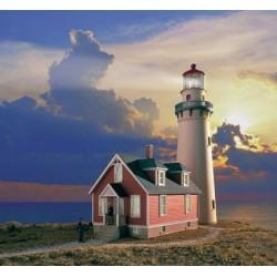 933-3663 HO Rocky Point Lighthouse kit_15852