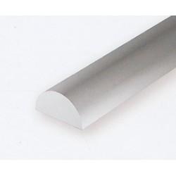 Polystyrol Halbrund 35cm 1.0 mm 5 St_161