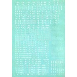 460-90071 HO SP Extended Roman Alphabet_16107