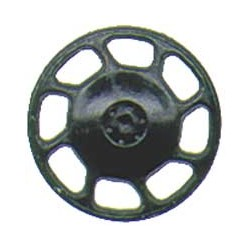 380-2043 HO Brake Wheel Universal blk_1651