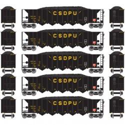 140-98333 HO 5-bay Rapid Discharge CSUX (5) Set 1_16526