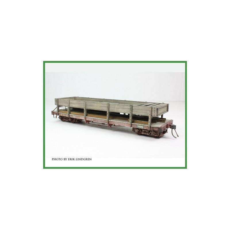 6701-116 ON3 D&RGW Rail & Tie Car # 06084_16760