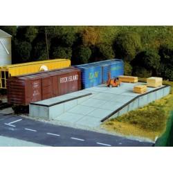 HO Loading Docks & Ramp_16907