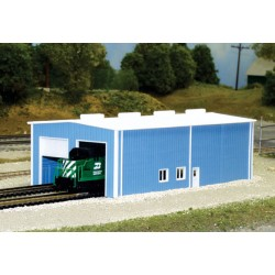 N 2-stall Engine House (ca 76 x 15,2 cm) Bausatz_16929