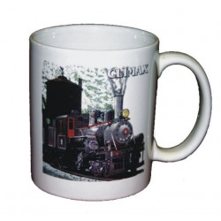 5306-131 Climax Logging Locomotive Mug_16962