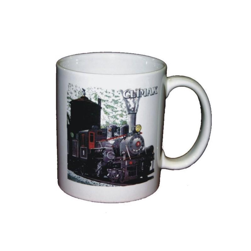 5306-131 Climax Logging Locomotive Mug_16962