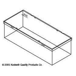 380-3012 HO Empty Plastic Box - Hopper_1698