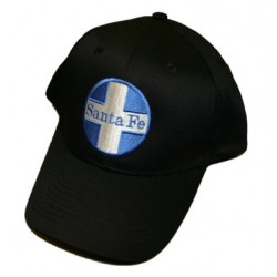 5306-16 Hat AT&SF (Santa Fe) Blue Cross Embroidere_16994