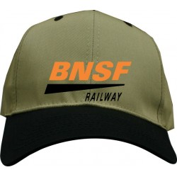 5306-48 Hat BNSF Swish Embroidered_16999