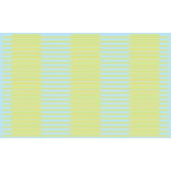 380-3124 HO Street Decal  - Solid / Dash yellow_1702