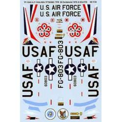 460-48-1134 TF-104G & TF-104A Starfighters: 69th T_17033