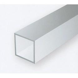 Polystyrol Rohr quadratisch 35 cm 3.2 x 3.2 - 3 St_171