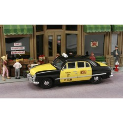 "AHT-43303 O (1/43) 1950 Ford 4-Door Taxi ""Yellow C_17225"