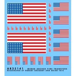 5008-AR35141 US. 48 Sterne Flagge für Fahrzeuge_1728