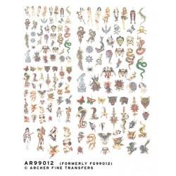 5008-AR99012 1/32 -Traditional old school tattoos_17294