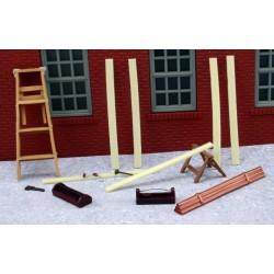 AHT-43921 O (1/48) Carpenter Building Set_17313