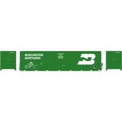 "141-G63881 HO 50' PC&F 10' 6"" Door Box Car BN_17487"