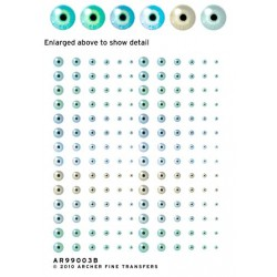 5008-AR99003B menschliche Augen, blass # 3B_1751