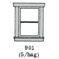 200-901 HO Window 12 x 16mm_17535